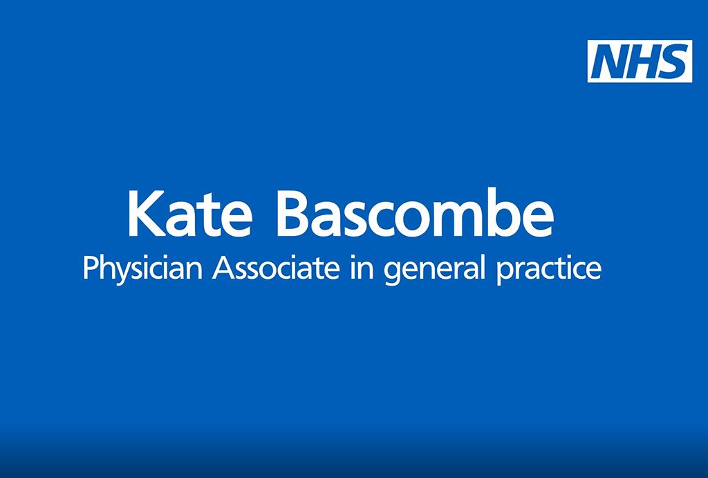 Kate Bascombe - Physician Associate in general practice